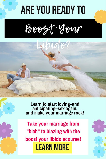 The Boost Your Libido Course is one of my tried and true awesome online marriage courses. You should always be working on your marriage even if it's going great right now!