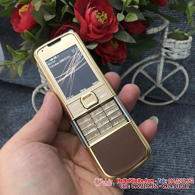 Bán nokia 8800 arte gold da nâu  giá chỉ 2,9tr tại đường  phùng khoang  hà nội