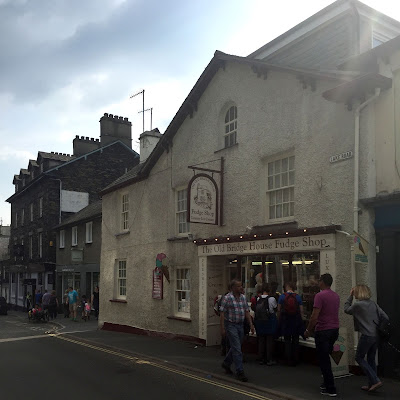 Fudge Shop in Ambleside