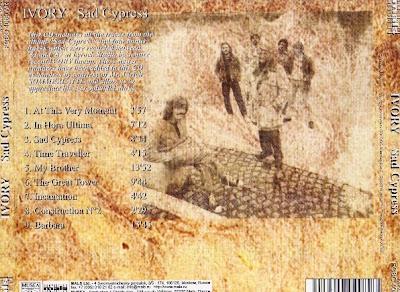 Resultado de imagen de ivory band sad cypress album