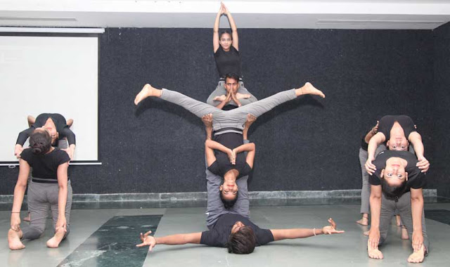 International Yoga Day celebrated in Faridabad