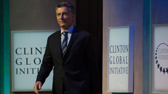 Macri dice que su elección salvó a Argentina de una crisis