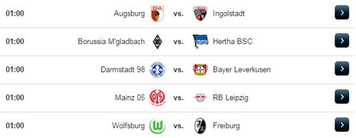 Jadwal Liga Jerman Kamis 5 April 2017