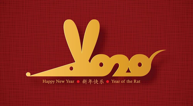The Year Of The Metal Rat 2020 Happy New Year 2020 Hd