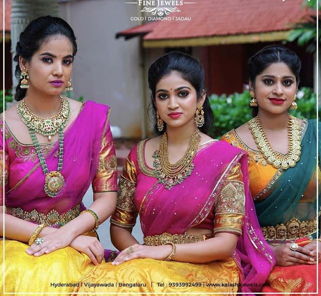 Heavy Kundan Sets by Kalasha Fine Jewels