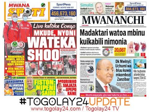 Habari kubwa za Magazeti ya Tanzania leo February 11, 2021