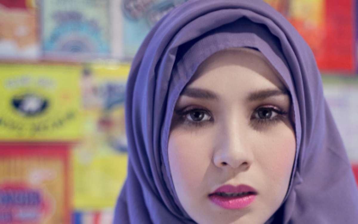 tutorial hijab ala wanita arab