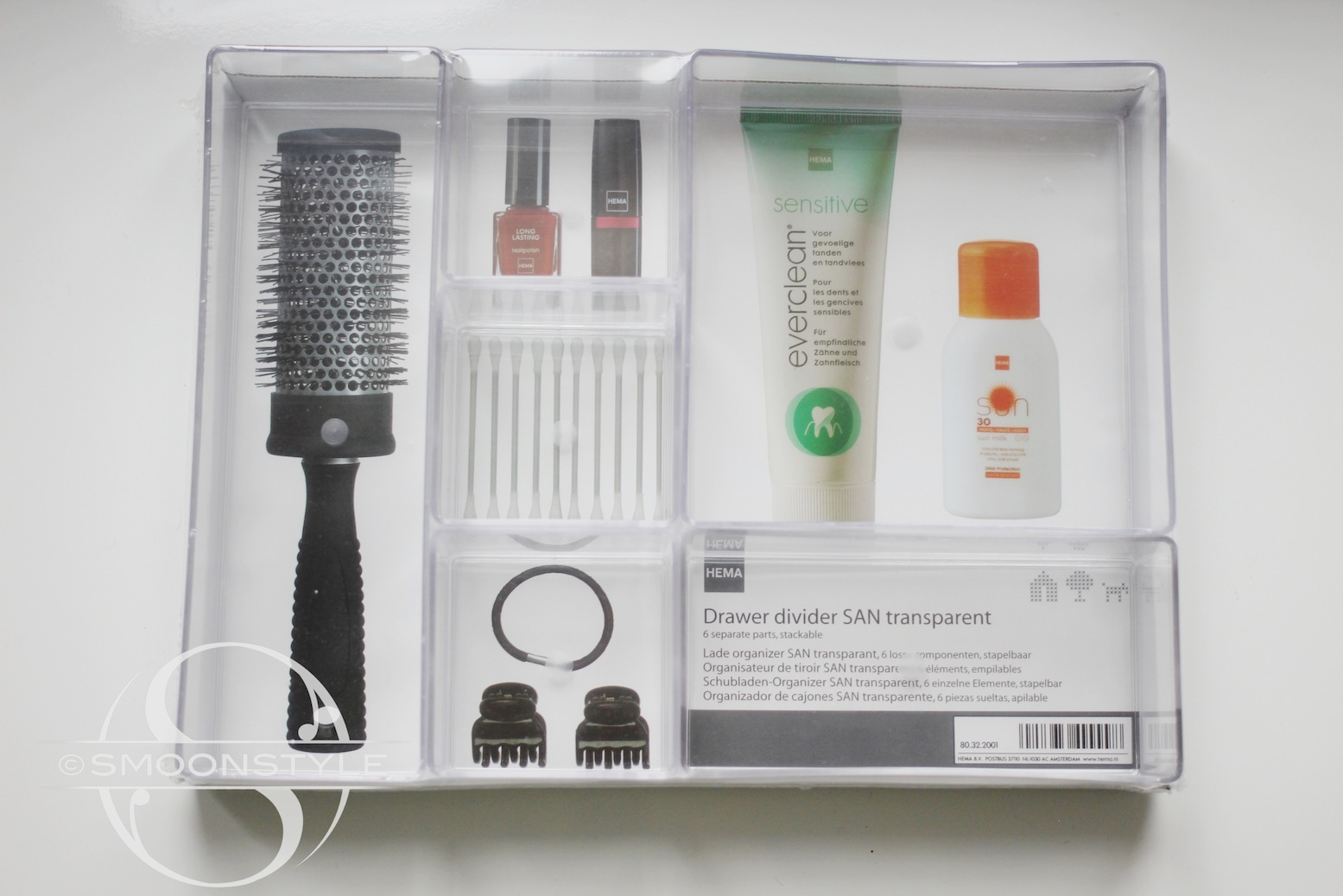 Ladeverdeler Ikea Everyday Make Up Storage Smoonstyle
