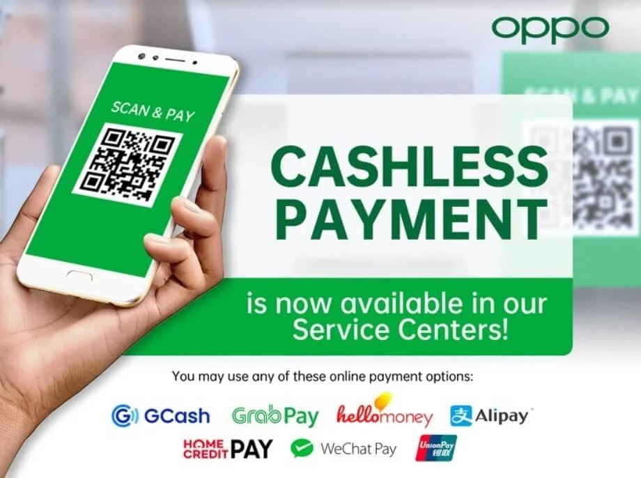 OPPO Service Centers' Cashless Payment Transactions Now Available