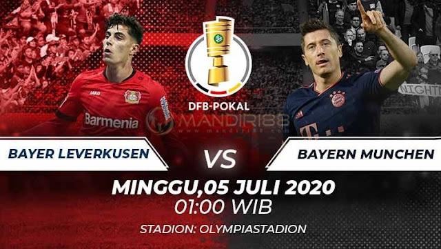 Prediksi Bayer Leverkusen Vs Bayern Munchen, Minggu 05 Juli 2020 Pukul 01.00 WIB