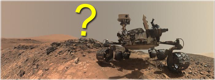 como são feitas as selfies do rover Curiosity em Marte