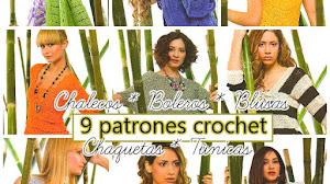 9 Prendas de Mujer para tejer con ganchillo / Moldes y patrones ~ Revista