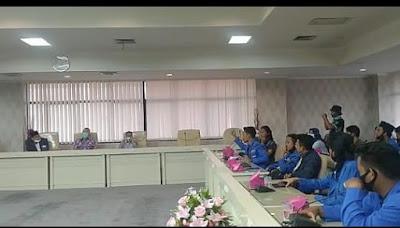 Bapemperda DPRD Lampung Proses Pengajuan Raperda Inisiatif Eksekutif Soal Covid-19