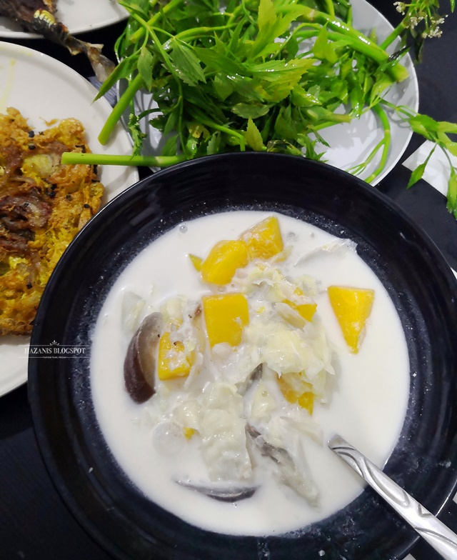 Resepi Sayur Lemak Putih Kelantan
