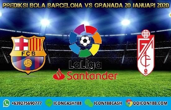 Prediksi Skor Barcelona vs Granada 20 Januari 2020