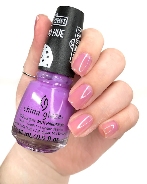 China Glaze I Count Even... 25 Sweetpeas