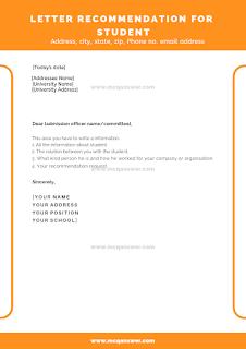 formal and informal letter sample
