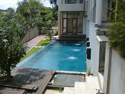 Design kolam renang rumah minimalis