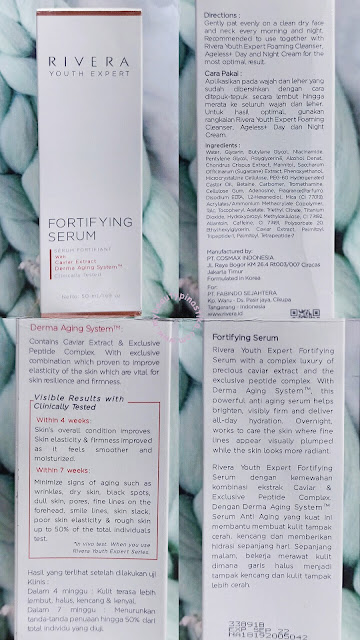 Rivera Youth Expert Fortifying Serum Review