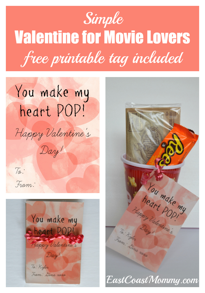 image regarding You Make My Heart Pop Valentine Printable identify East Coastline Mommy: By yourself Create my Middle Pop Valentines Working day
