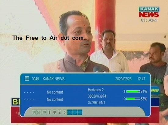 Kanak News Frequency, Kanak News Satellite