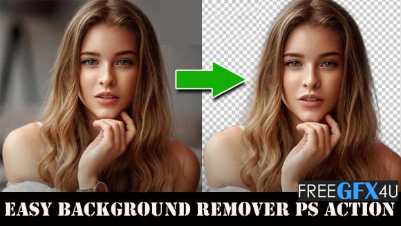 Easy Remover photo Background PS Action