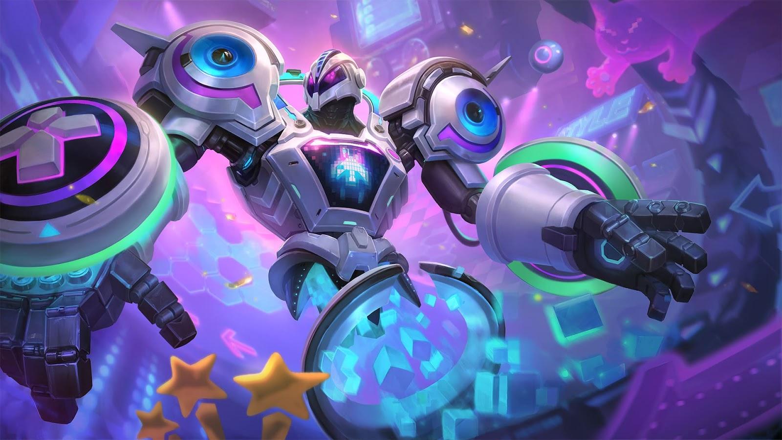 Wallpaper Uranus Video Game Dominator Skin Mobile Legends HD for PC