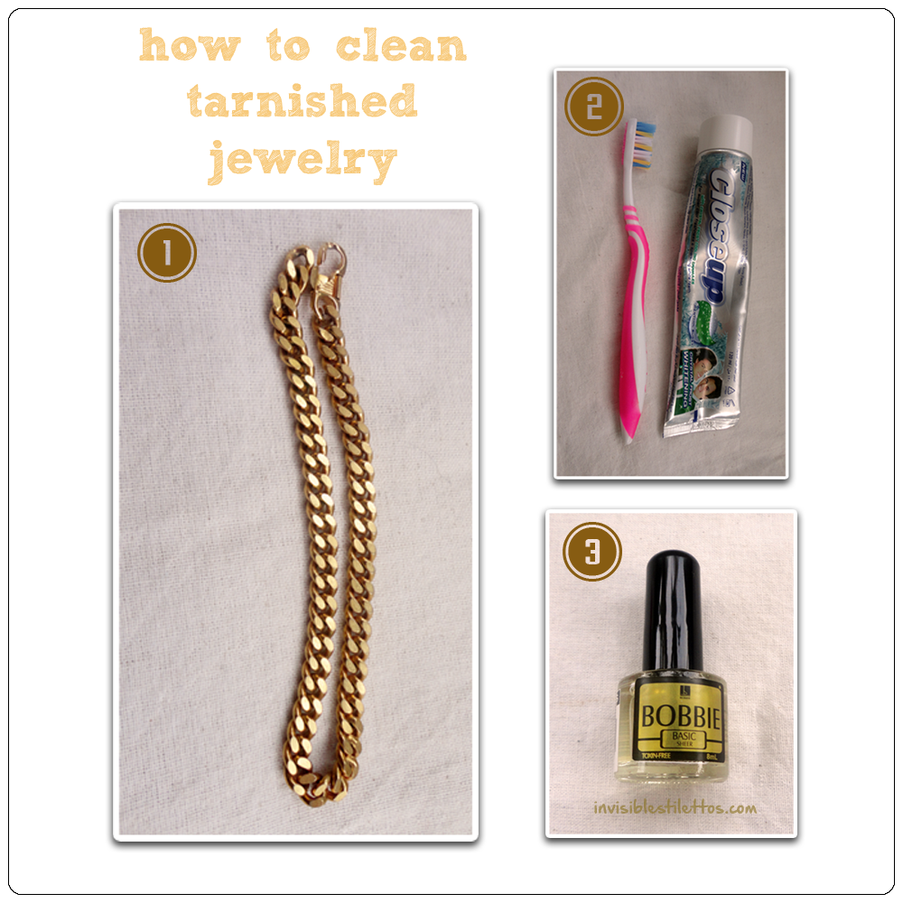 How To Clean Tarnished Jewelry   INVISIBLE + STILETTOS
