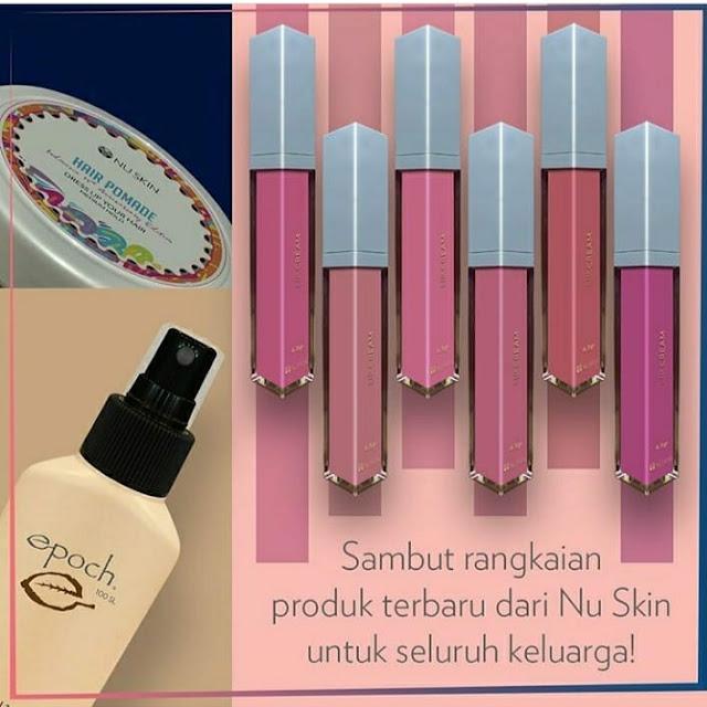 3 Produk Terbaru Nu Skin Lip Cream, Hair Pomade dan Insectrepellent