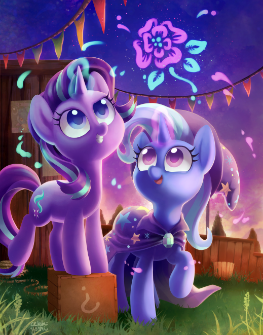 Magic pals The Great and Powerful Trixie