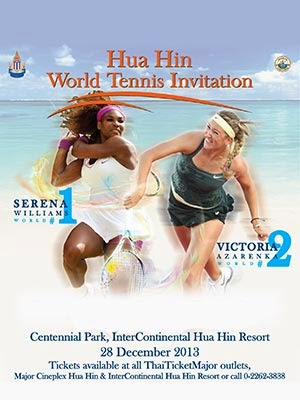 Hua Hin Serena Williams Victoria Azarneka