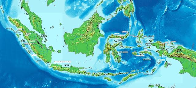 Berapa Luas Wilayah Indonesia?
