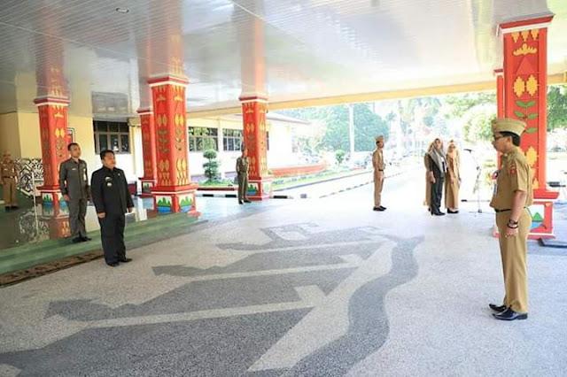 Sekda Lambar Pimpin Upacara Peringati Hari Anti Korupsi