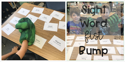 fist pound sight words