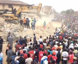 Update: 12 bodies recovered from collapsed building in Jos