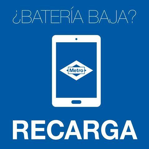 Ya puedes cargar el móvil en el Metro de Madrid