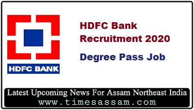 HDFC Bank Job