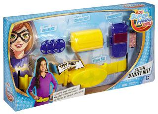TOYS : JUGUETES - DC Super Hero Girls BatGirl : Cinturon multiusos Producto Oficial Serie 2016 | Mattel DNH04 | A partir de 6 años Comprar en Amazon España & buy Amazon USA