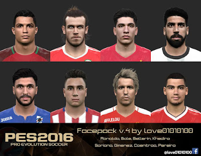 PES 2016 Facepack v.4 by love01010100