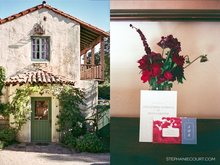 """Santa Barbara film wedding photography"""