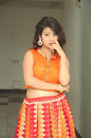 Shubhangi Bant in Orange Lehenga Choli Stunning Beauty ~  Exclusive Celebrities Galleries 064.JPG
