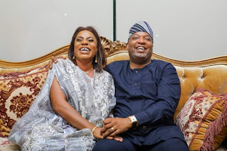 Property Mogul, Aare Adetola EmannuelKing Celebrates Wife On Her Birthday
