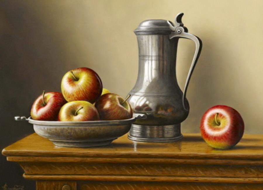Im genes arte pinturas cuadros de frutas para el comedor for Cuadros al oleo modernos para comedor