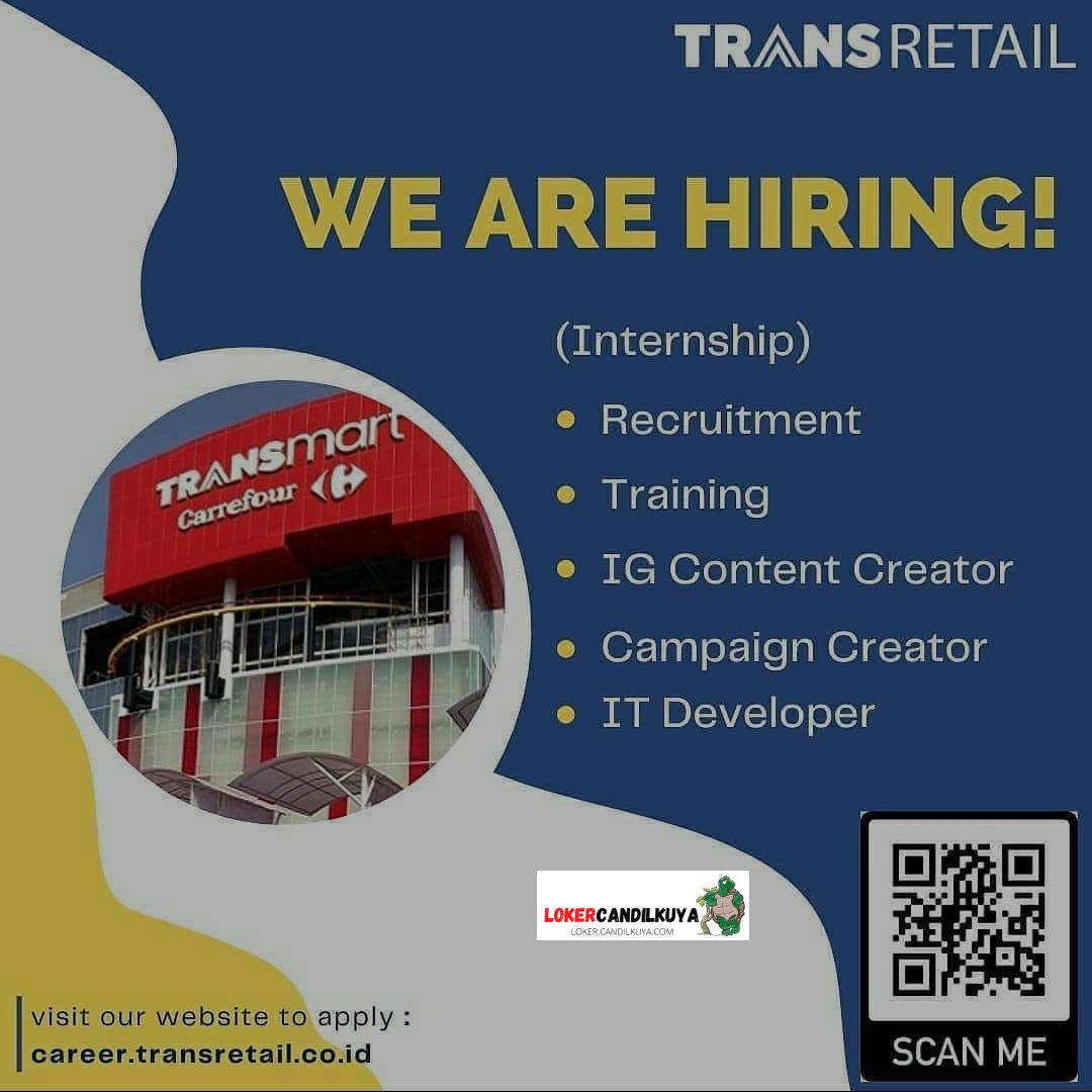 Lowongan Kerja TransMart