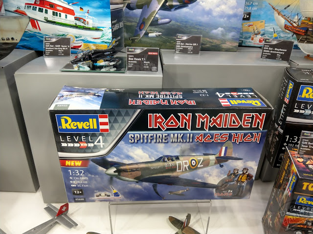 Toy Fair 2020 UK Revell Model Kits Rock Bands Iron Maiden