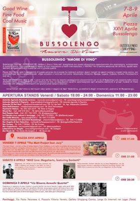 Amore di Vino 7-8-9 aprile Bussolengo (VR)