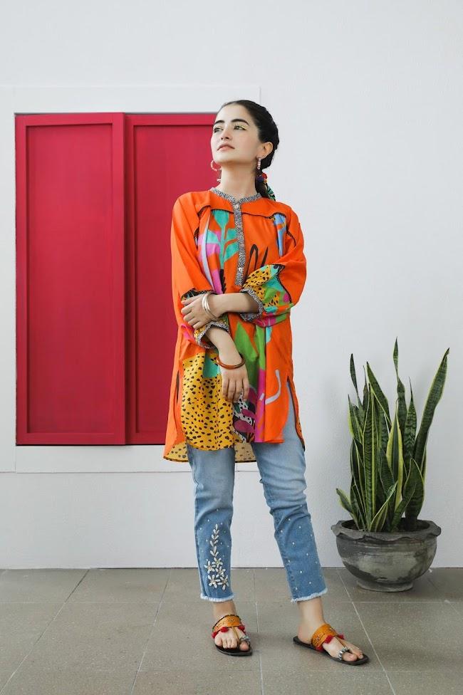 Ethnic Kurti Fusion Collection
