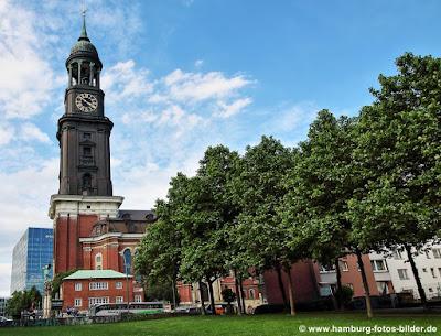 Sankt Michaelis Kirche Hamburg, Hamburger Michel, Wahrzeichen Hamburg