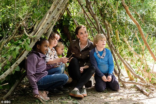 Duchess Kate launched a royal competition on Blue Peter