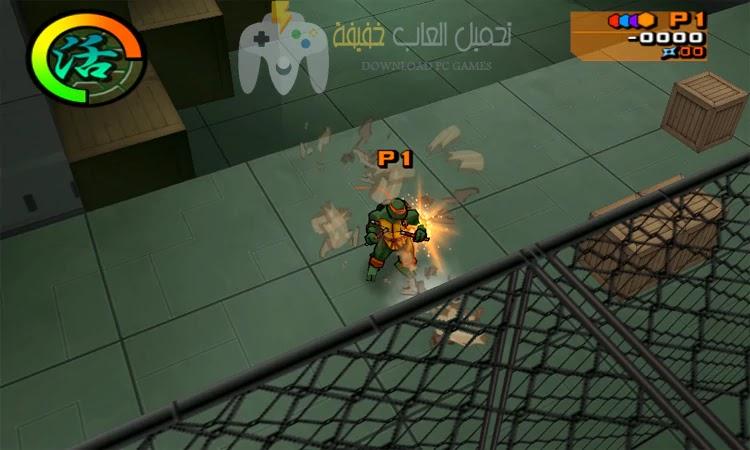 تحميل لعبة سلاحف النينجا 2 Ninja Turtles للكمبيوتر